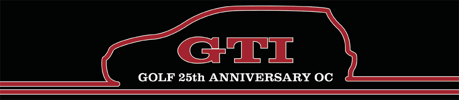 GTI 25th Anniversary Owners Club